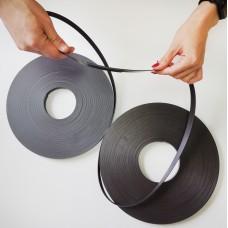 Магнитная лента 25,4*1,5мм рулон 30,5м, без клея, Тип А+В