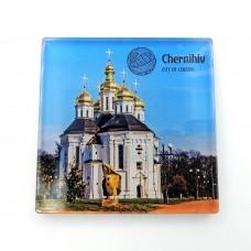 Магніт зворотного друку Чернігів Катерининська церква