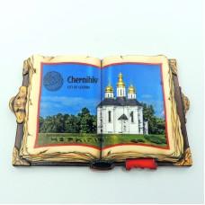 Керамические магнитики Чернигов Екатерининская церковь книга