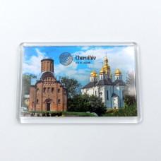 Акриловый магнит Чернигов церкви