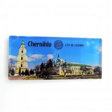 Магніт зворотного друку Чернігів місто легенд панорама