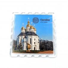 Акриловий магніт Чернігів Катерининська церква