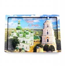 Слойка дерев'яно-акрилова Чернігів Троїцька церква панорама