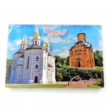 Магніт зворотного друку Чернігівські церкви
