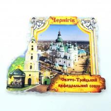 Керамические магнитики Чернигов Свято-Троицкий кафедральный собор