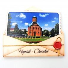 Керамічні магніти Чернігів П'ятницька церква конверт