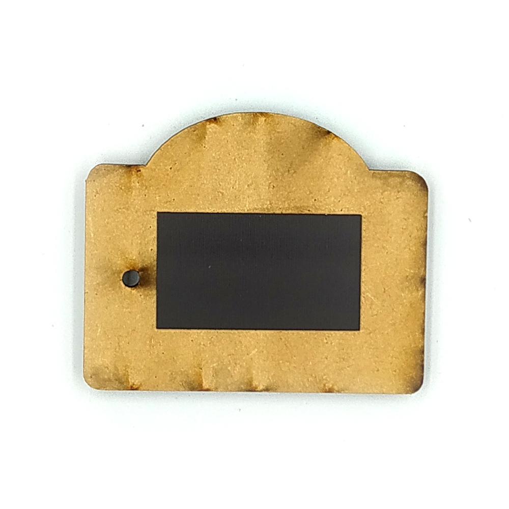 Деревянно-акриловая заготовка для магнитов №2