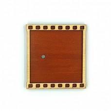 Деревянно-акриловая заготовка для магнитов №4