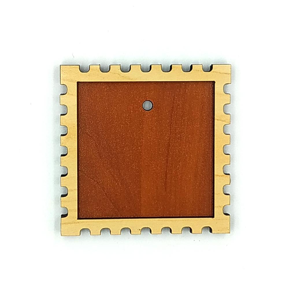Деревянно-акриловая заготовка для магнитов №7