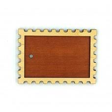 Деревянно-акриловая заготовка для магнитов №8