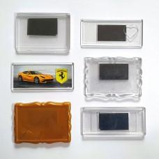Набір акрилових заготовок для магнітів на холодильник BigMix100