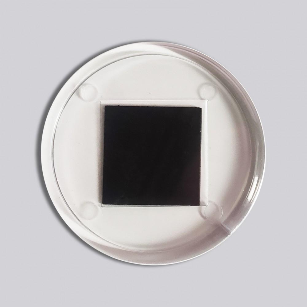 Круглий акриловий магнітик під вставку 65 мм