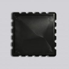 Квадратна акрилова заготовка Марка 65*65 мм (чорна)