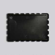 Акрилова заготовка прямокутна Марка 78*52 мм (чорний)