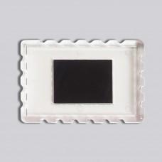 Акрилова заготовка прямокутна Марка 78*52 мм (прозора)