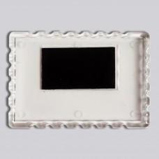 Акриловий магнітик Марка 92*65 мм (прозорий)