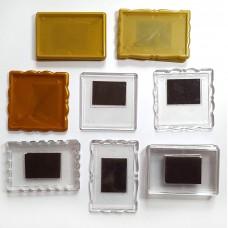 Набор акриловых заготовок для магнитов на холодильник Mix100