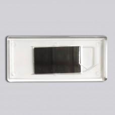 Заготовка для магнітика з гербом прямокутна 108*48 мм