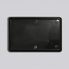 Прямокутний акриловий магніт 78*52 мм (чорний)