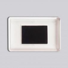 Прямоугольный акриловый магнит 78*52 мм (прозрачный)