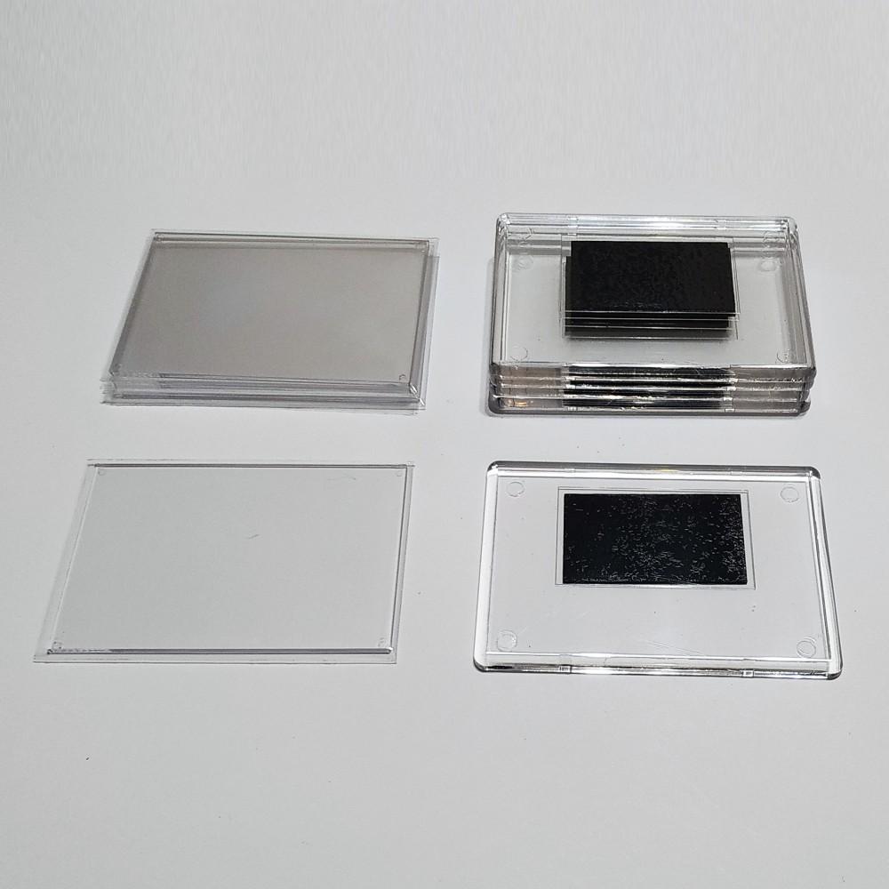 Акрилова заготовка для магнітів 92*65 мм (прозора)
