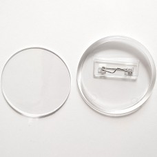 Акрилова заготовка для значка 65 мм