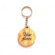 Брелок деревянный с цепочкой под заказ