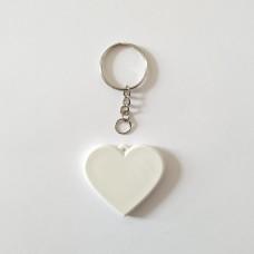 Брелок поликерамический Сердце с цепочкой