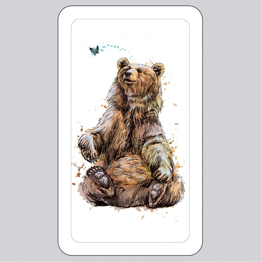 Футляр для маски медичної «Ведмідь»