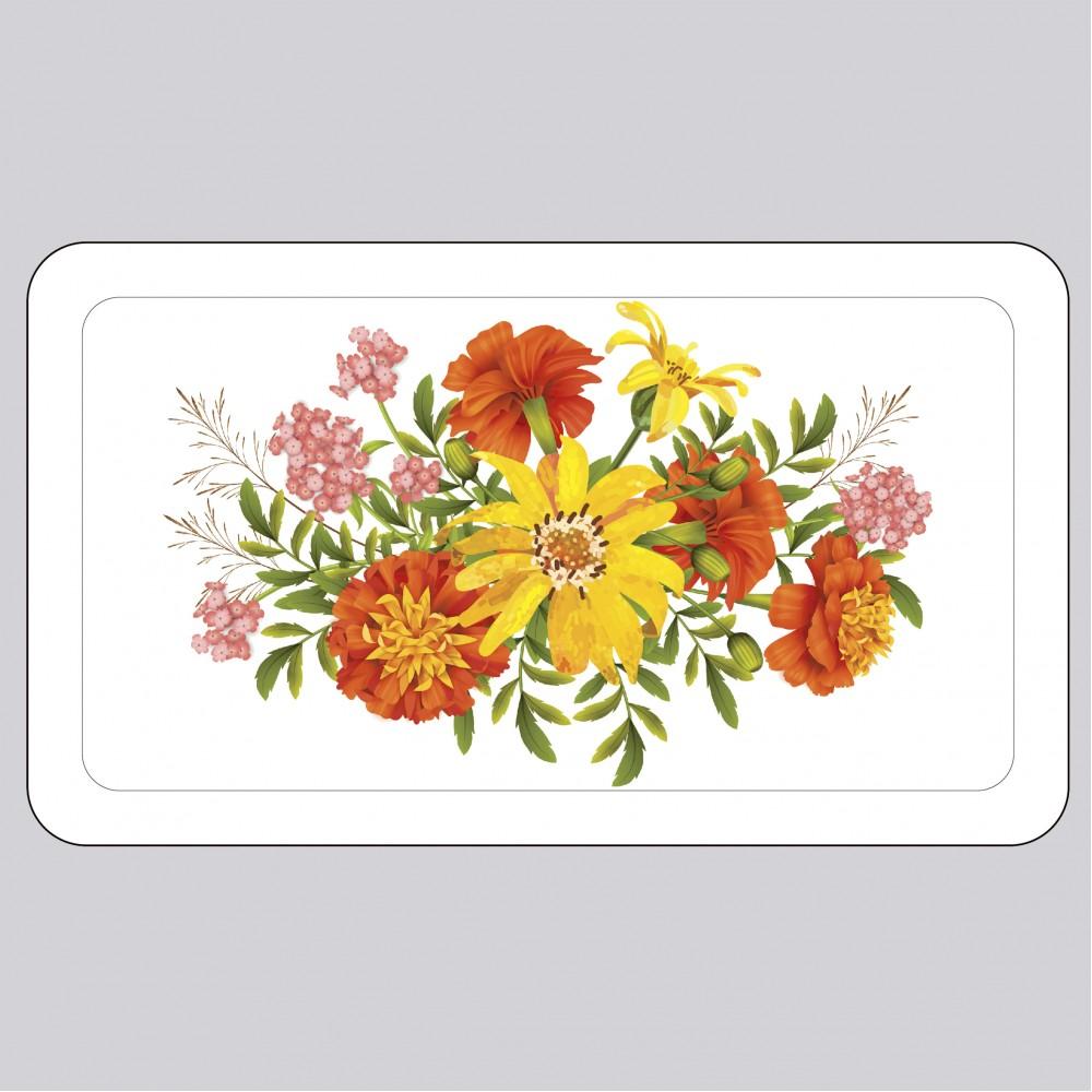 Футляр для маски пита «Яркие цветы»