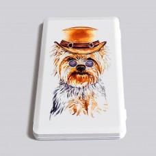 Пластиковый чехольчик «Собака Йорк»