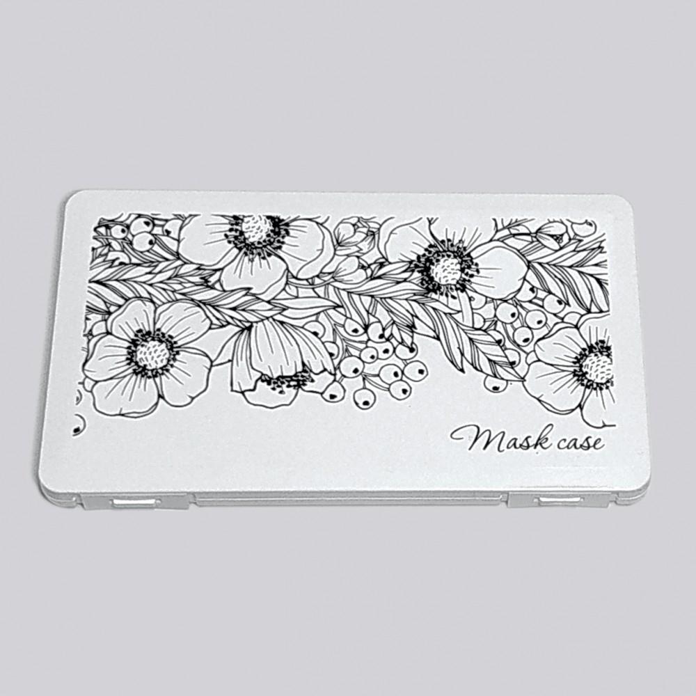 Органайзер для маски з тканини «Квіти»