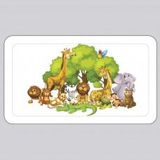 Детский пластиковый органайзер «Зоопарк»