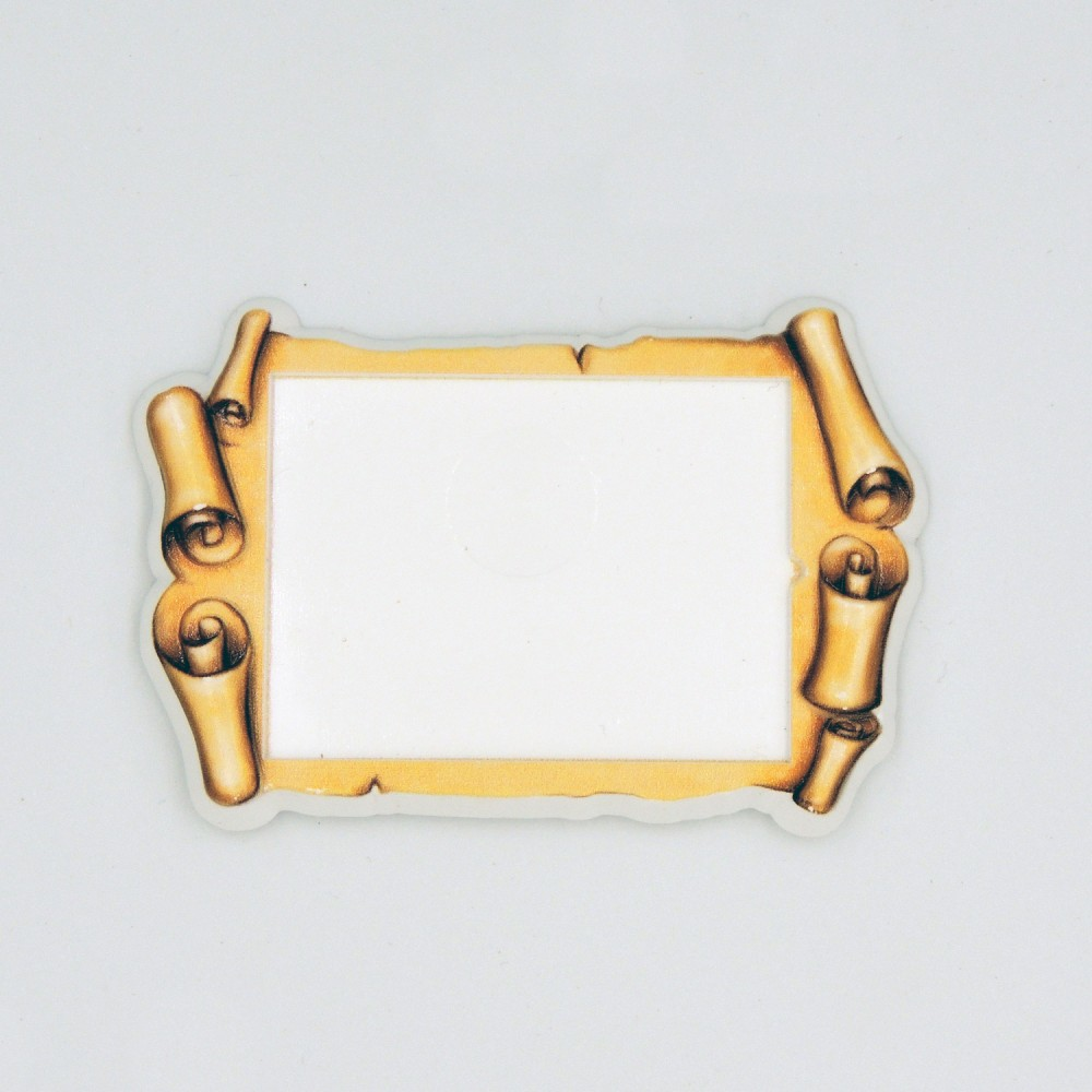 Керамічна заготовка для магнітів під вставку Древній сувій