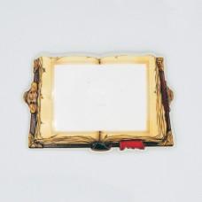 Керамічна заготовка для магнітів під вставку Книга