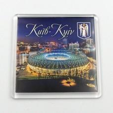 Акриловый магнит Киев стадион