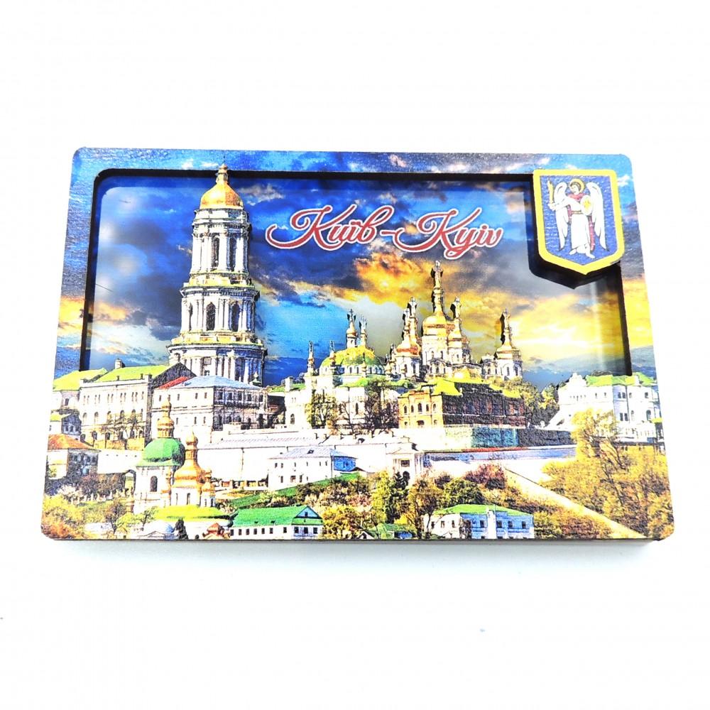 Слойка деревянно-акриловая Лавра Киев