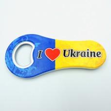 Класична відкривалка I love Ukraine