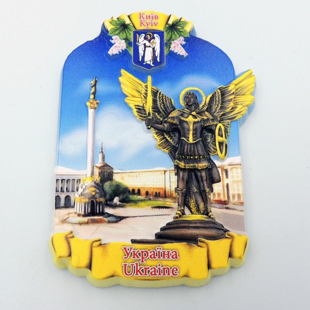 Керамический магнит Украина Архангел и Майдан