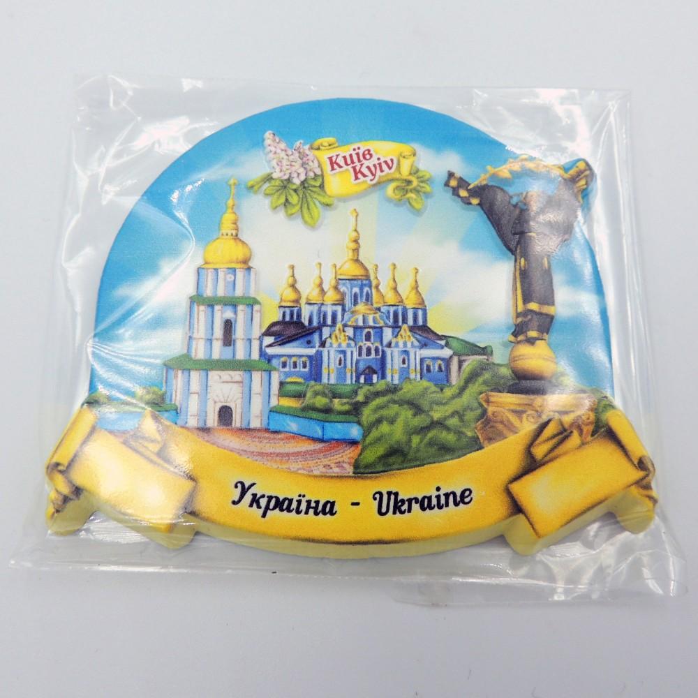 Керамический магнит Киев Архангел и Лавра