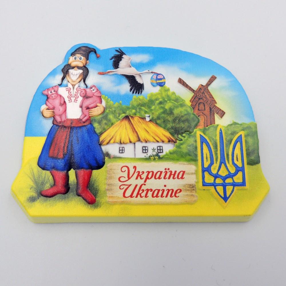 Керамический магнит Украина Хозяин