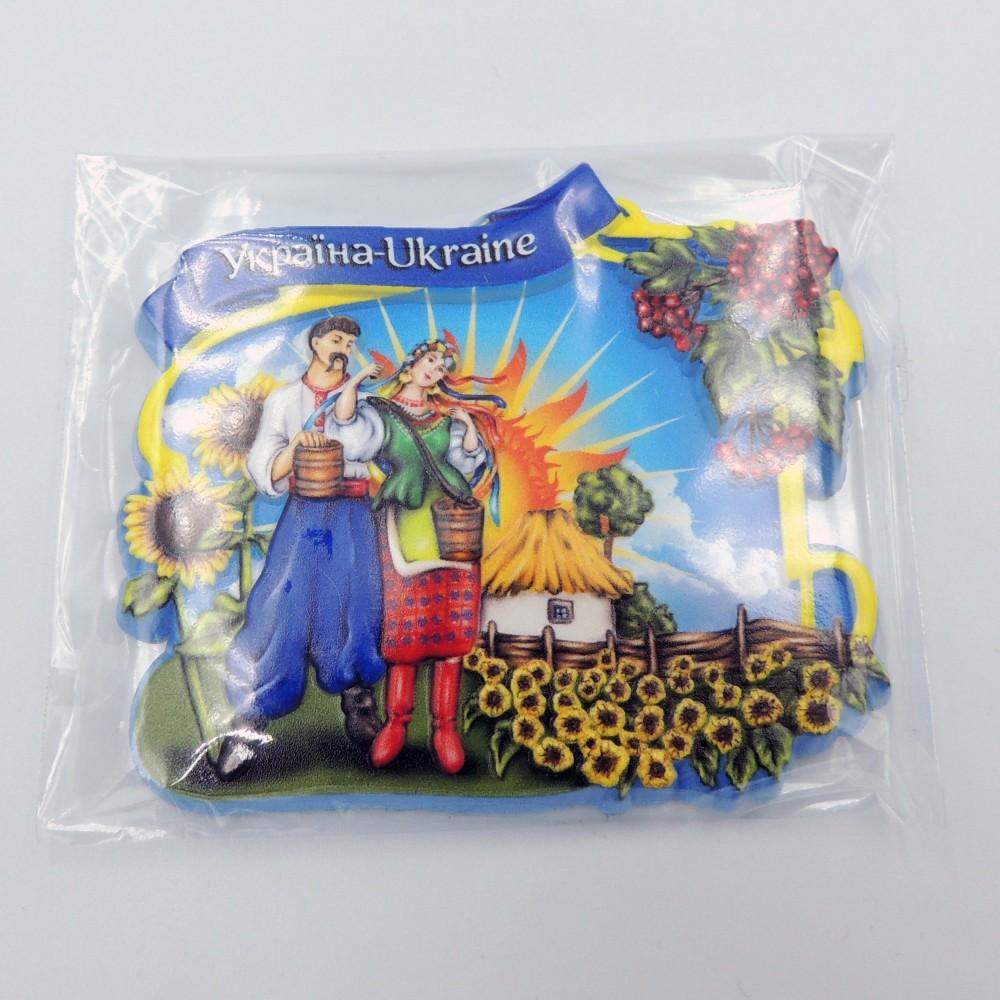 Керамический магнит Украина Калина