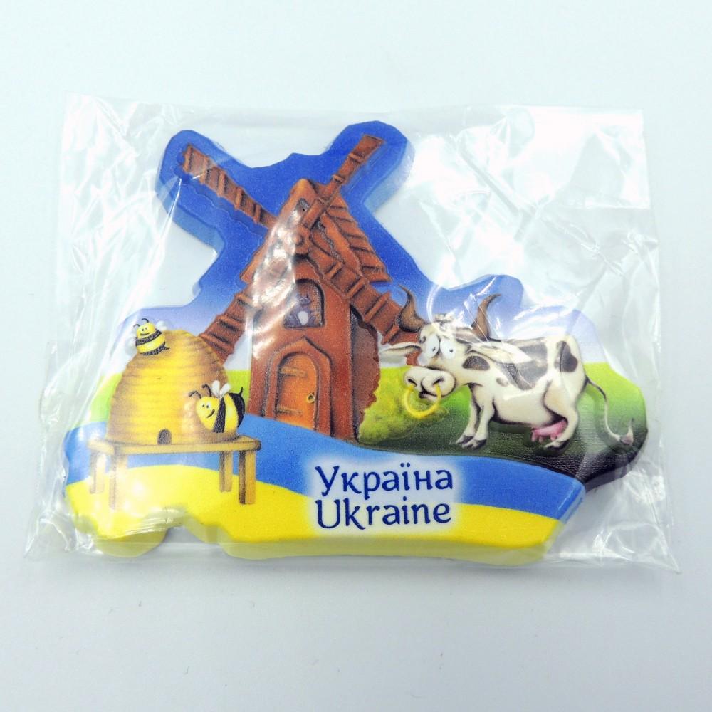 Керамічний магніт Україна Млин