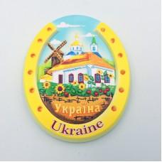 Керамический магнит Украина Подкова