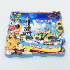 Керамический магнит Галушки Украина