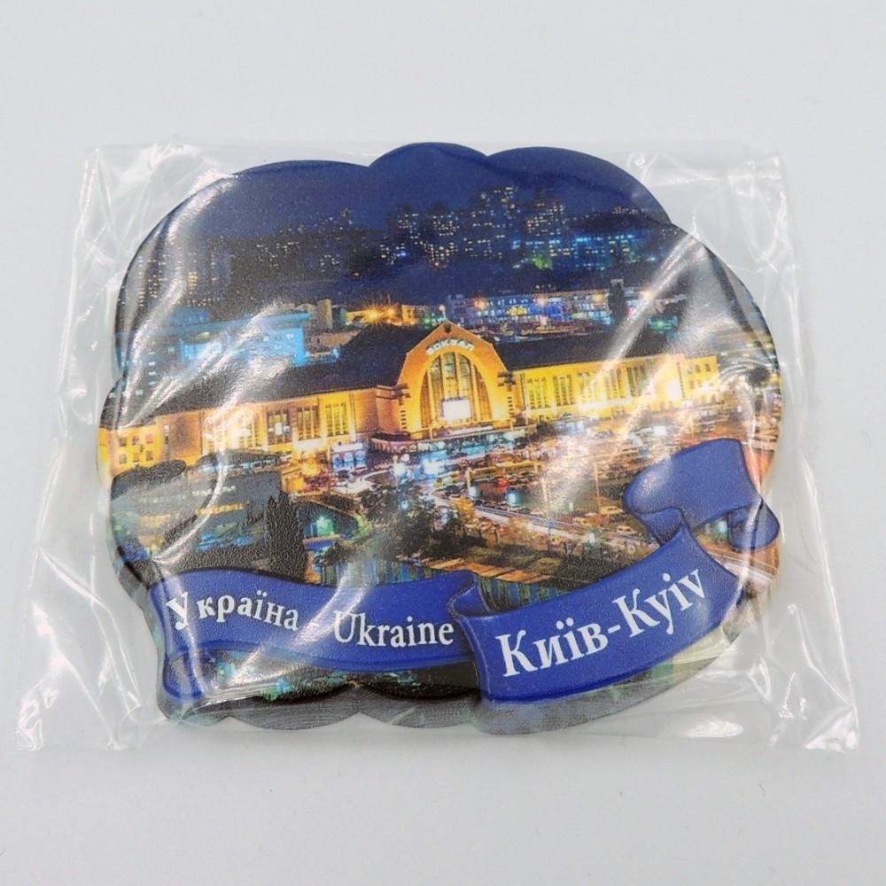Керамический магнит Лента № 6 Вечерний Киев