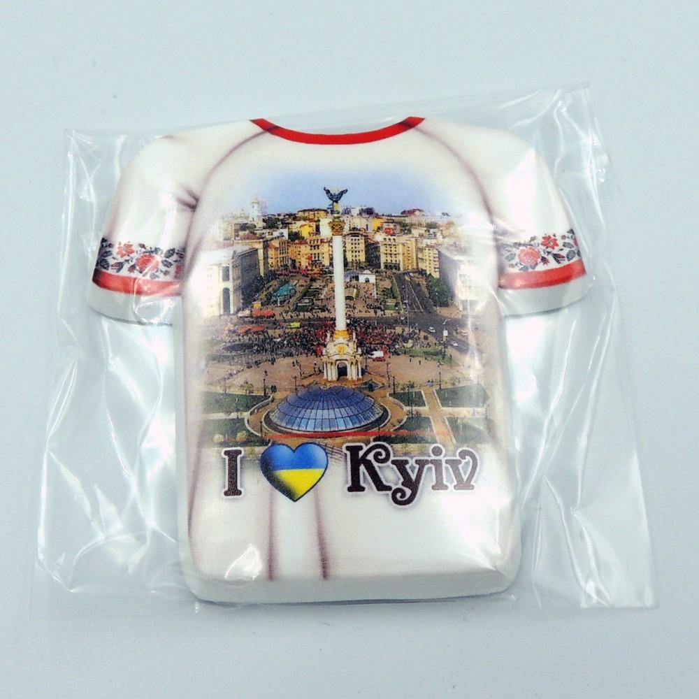 Керамический магнит Рубашка Киев