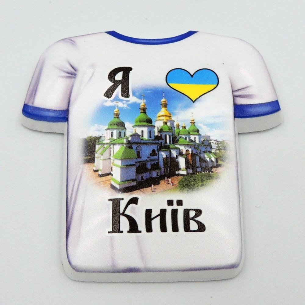 Керамічний магніт Я люблю Київ