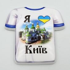 Керамический магнит Я люблю Киев