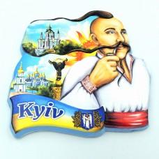 Керамический магнит Козак усатый Киев